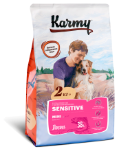 KARMY Sensitive Mini Лосось 2кг